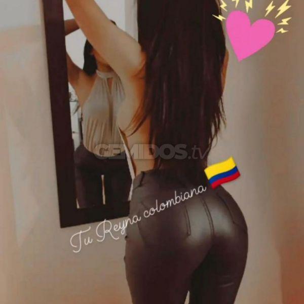 Mensaje tu Reyna colombiana cariñosa super tierna sere tu princesa, Tambien voy por almagro y palermo y alrededores mas lejos por un extra😈😈📲💋